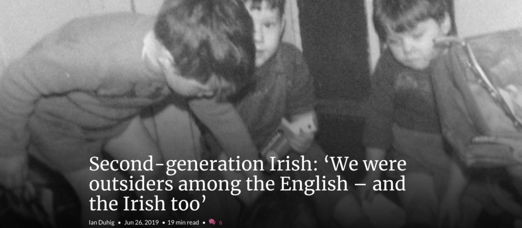 Ian Duhig's essay in the Irish Times